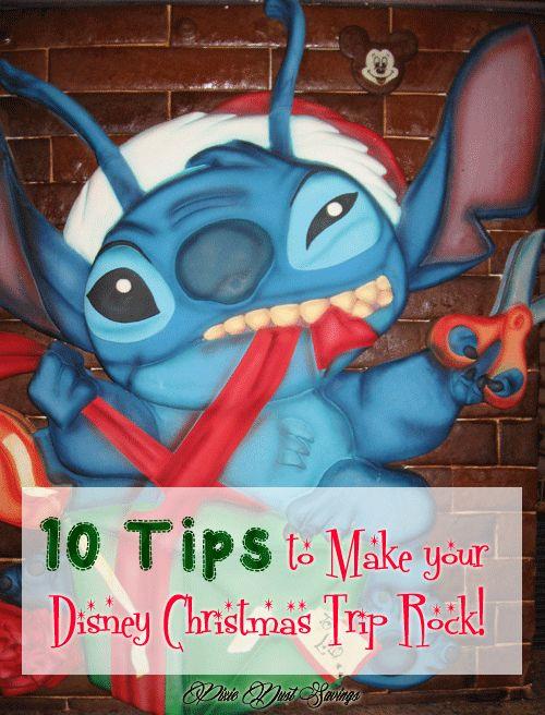 10 Tips to Make your Disney Christmas Trip Rock!