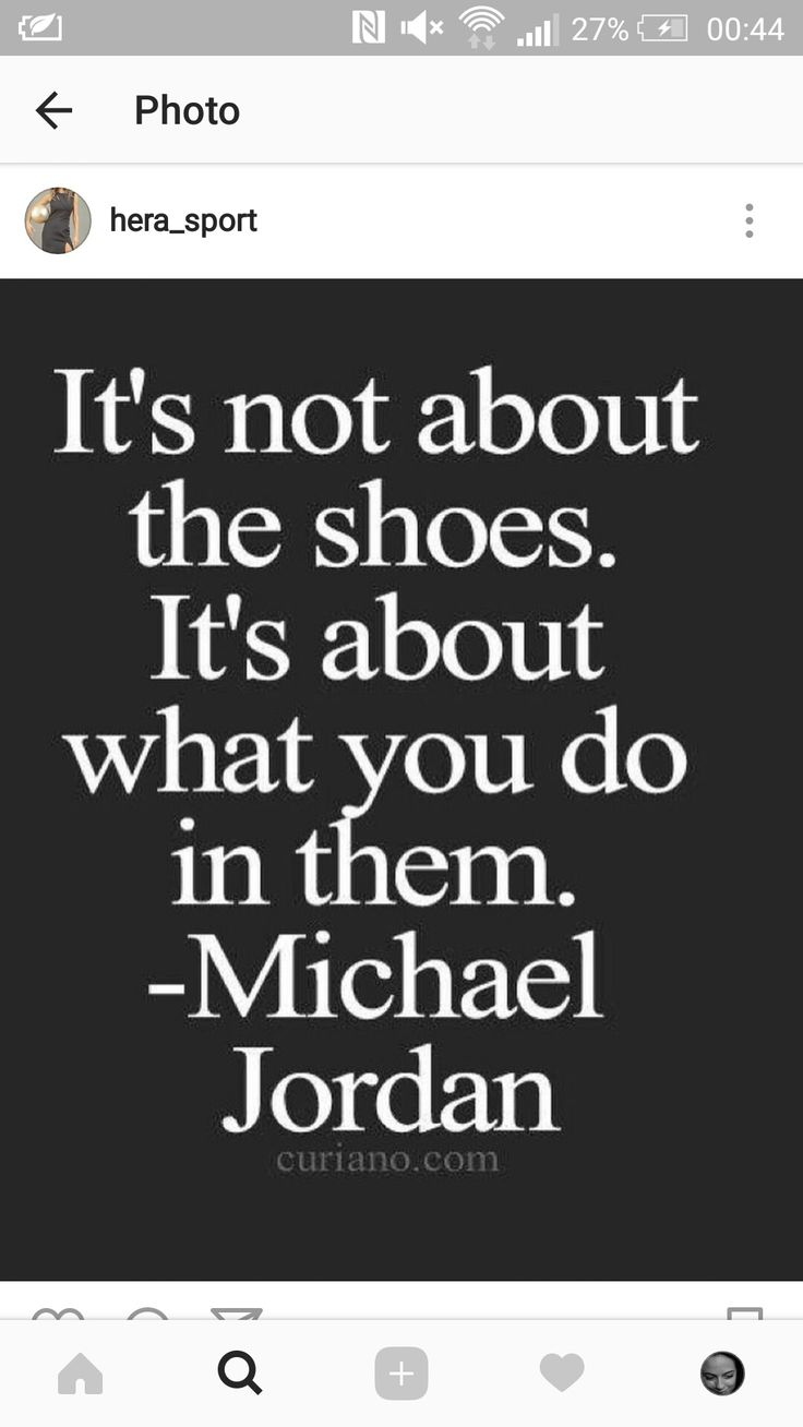 Many talented fashion designers could have said this, but that it was spoken by the legendary Michael Jordan? Pure brilliance. Leave it to @hera_sport to find a quote that so cleverly represents our shared love for fashion and @nba basketball.#transitions #shoes #michaeljordanshoes #theofficialmichaeljordan #fashion #nba #quotepost #repost #quote #michaeljordan