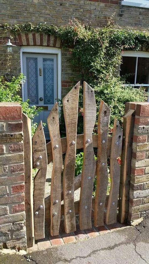 Really nice garden gate build yourself! – Garten – #Bauen #Echt #Garten #Gartentor