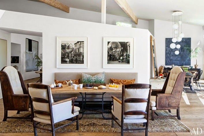 Mix and Chic: Home tour- Patrick Dempsey's inviting Malibu home!