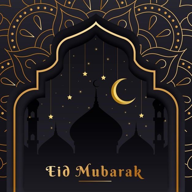 Download Flat Design Eid Mubarak With Moon Over Mosque For Free Eid Mubarak Graphic Design Photoshop Eid Greetings