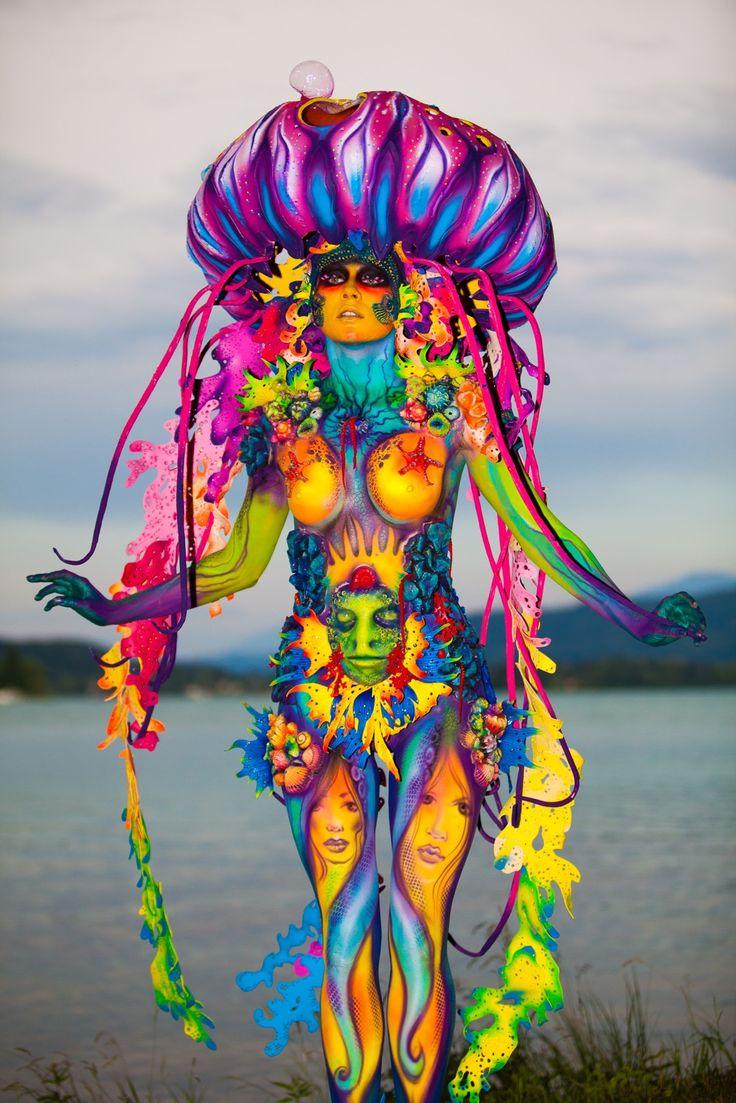 World Bodypainting Festival 2016, Austria; photo, Karsten Skrabal