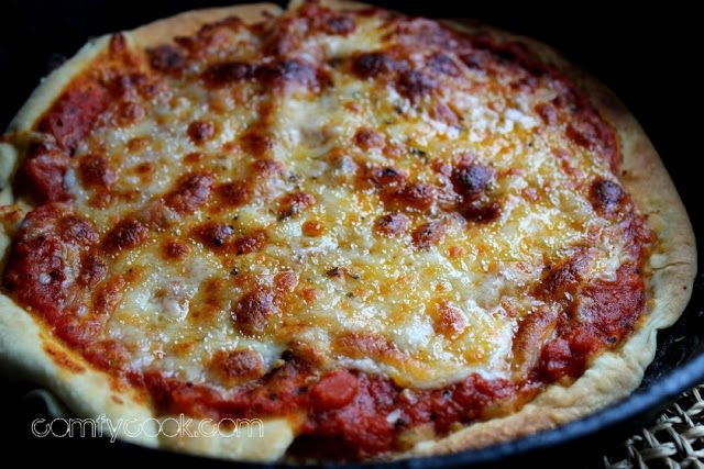 Comfy Cuisine: Appetizers and Snacks . Stove top pizza