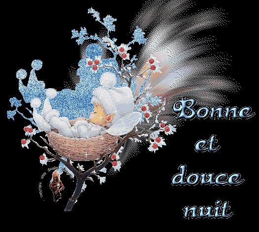 Bonne et douce nuit - Bébé - Gif scintillant - Gratuit ...