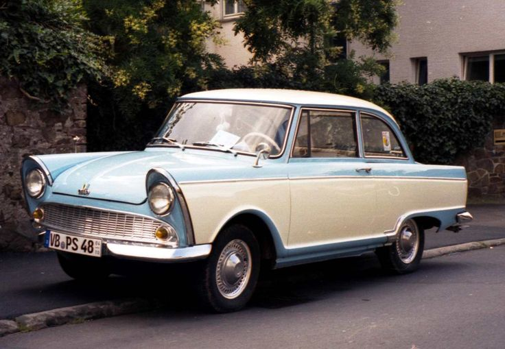 DKW Junior: my mom's car in the 70s (in light blue)                                                                                                                                                                                 Mehr