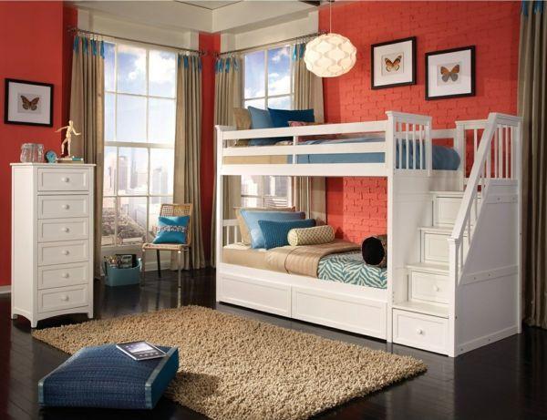 12 best chambre d\u0027enfants images on Pinterest Child room, Bunk