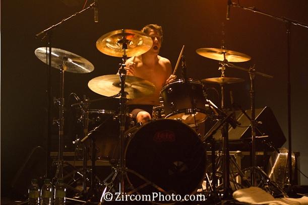 Vincent (batterie) de Lofofora à la Laiterie de Strasbourg le 26.01.2012 -> http://facebook.com/Lofofora