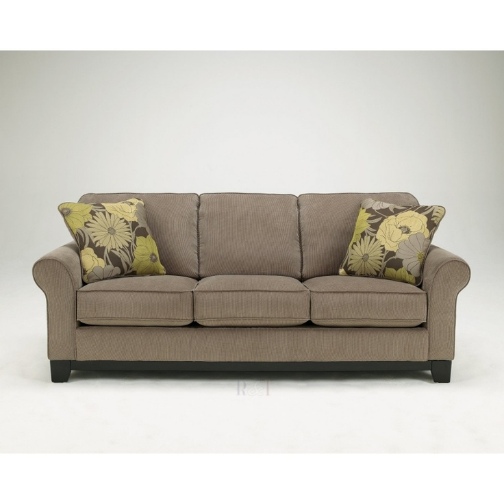 This Couch Without The Green Cushions. Riley Ashley Furniture