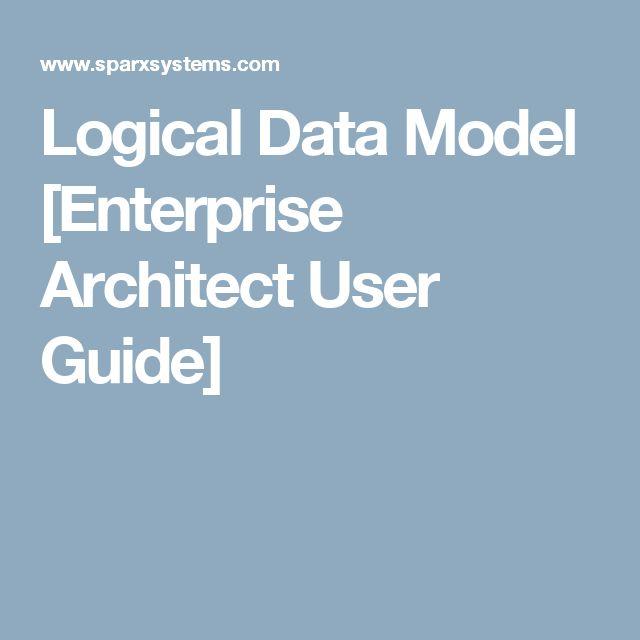 Logical Data Model [Enterprise Architect User Guide]
