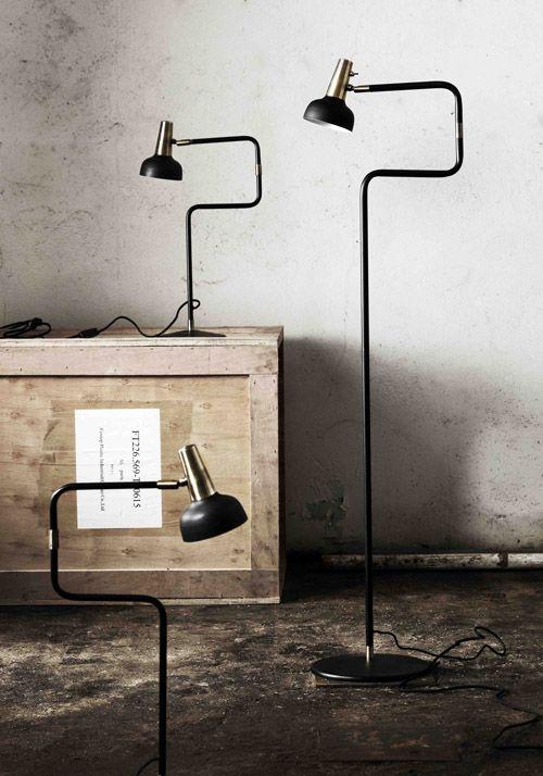 Ray bordslampa golvlampa vägglampa NY liten