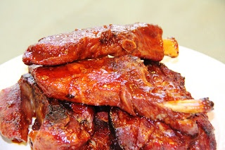 Bourbon Whiskey Spare Ribs