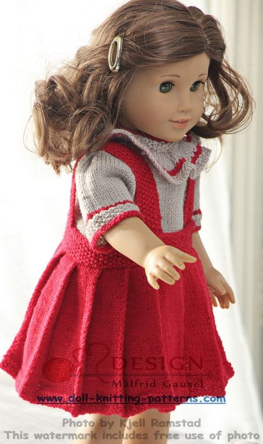 Knitting Patterns Small Dolls Clothes : 1000+ images about American Girl Doll Patterns and Styles and or 18 inch doll...