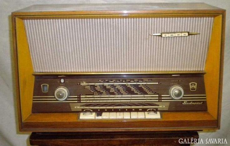 S589 R2 Régi retro Budapest rádió