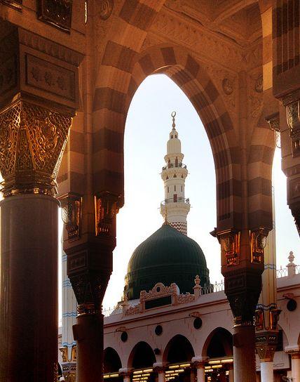 Al-Masjid an-Nabawi, Subhannallah.