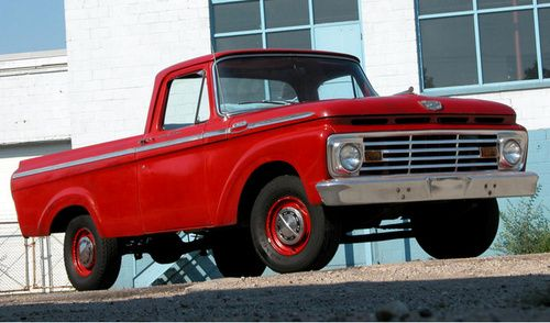 Ford F-100. Honest and unpretentious. Rare traits today.
