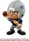"""Patriots Lil' Teammates Series 3 Quarterback 2 3/4"""" tall"""