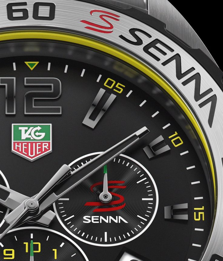 TAG Heuer Ayrton Senna Edition Carrera & Formula 1   The Home of TAG Heuer Collectors