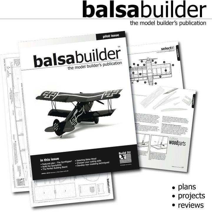Balsabuilder Digital Magazine Model Building Magazine Subscription