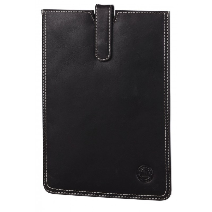 Hunter dark leather slip-cover for Galaxy Tab II 7.0 and 10.1. Price: $60. More information: www.dbramante1928.com.