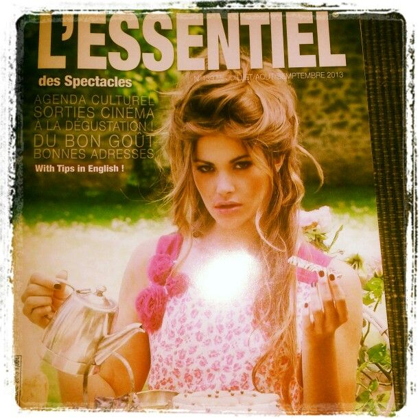 Make up for the cover L'ESSENTIEL