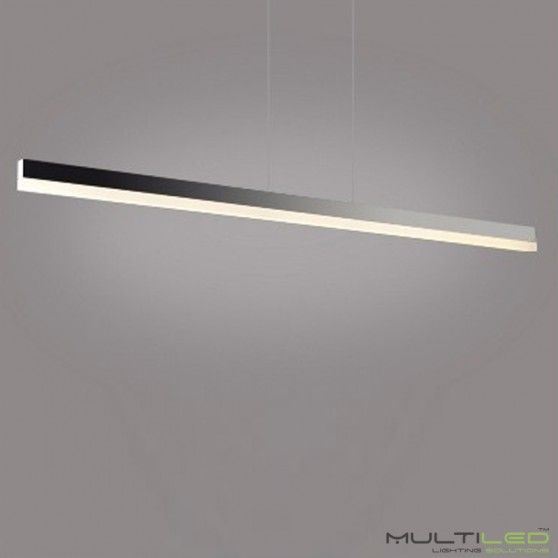 Comprar lampara led lineal gris antracita comedor