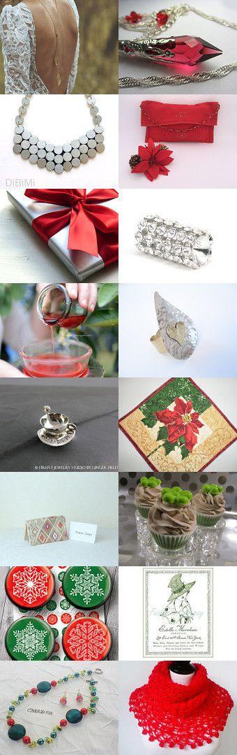 Preparing ♡ for ♡ Christmas ! ♡ by Julia Apostolova on Etsy--Pinned with TreasuryPin.com