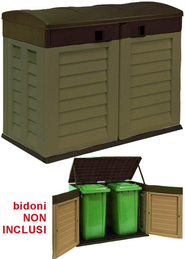 Oltre 25 fantastiche idee su bidoni su pinterest - Porta spazzatura differenziata ...