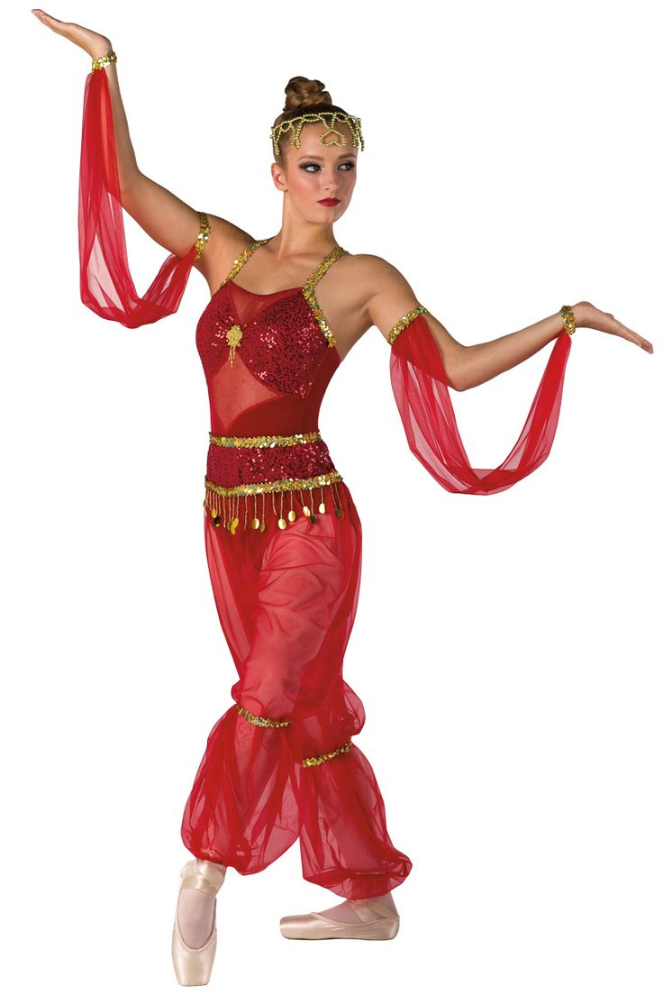 Ballet, Arabian Dance Ballet Costumes | Dansco - Dance Costumes and Recital Wear