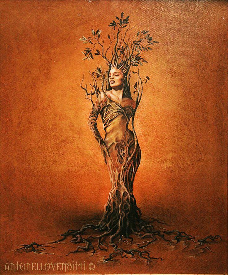 DAFNE. antonello venditti acrylic painting on canvas www.vendittiantonello.com https://www.facebook.com/AntonelloVendittiArt?ref=hl