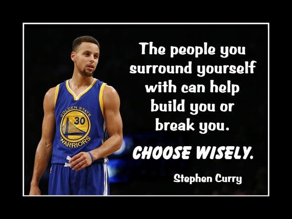 Basketball Wall Art Stephen Curry Quote Poster Curry by ArleyArt