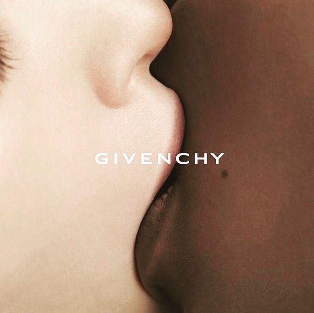 Givenchy Kissing - ad campaign, skin, editorial, fashion