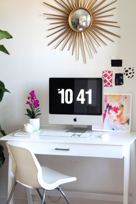 danielle oakey interiors: My New Affordable Target Desk!