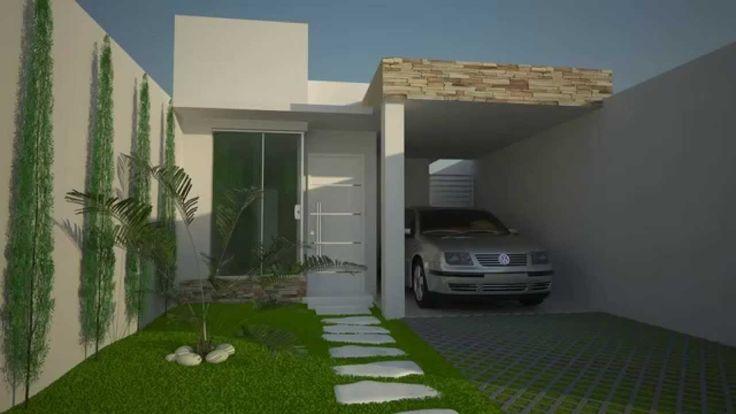 Casas estreitas e bonitas pesquisa google plantas de for Google casas modernas