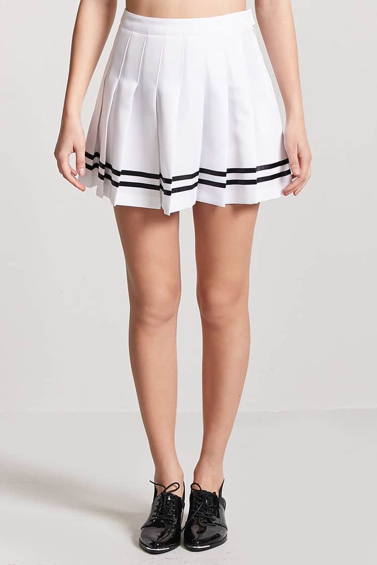 Product Name:Box Pleated Tennis Skirt, Category:bottoms, Price:15.9