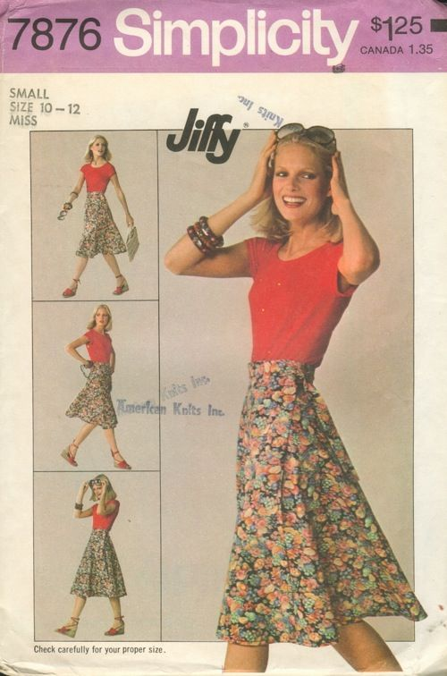 Simplicity 7876 A | Pinterest | Vintage sewing patterns, Sewing ...