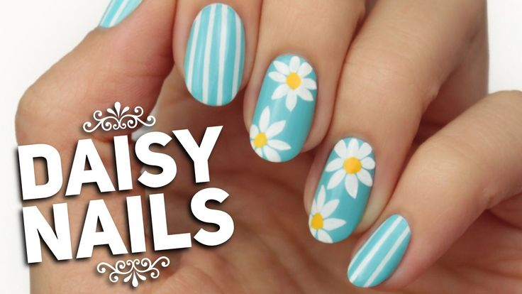 Spring Nail Art Design! Spring is here and what better way