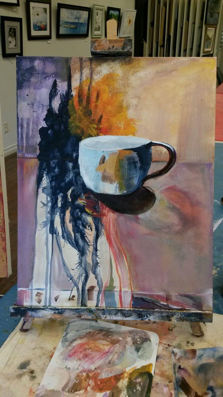 Still life #Acrylic on canvas 16x20