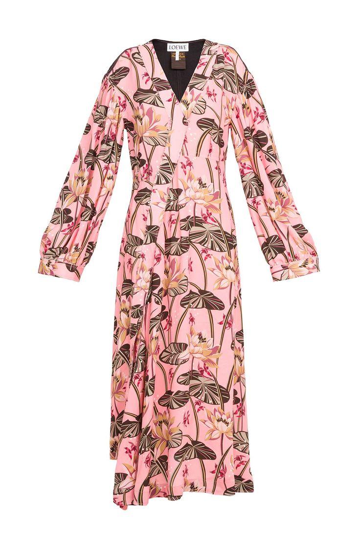 LOEWE Dress Paula Pink/Black front
