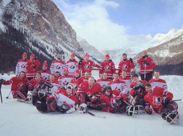 2014 Canadian ParaOlympics Sledge Hockey Team