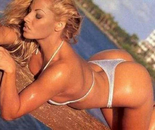 Trish stratus hot sexy, pussy brutalized video