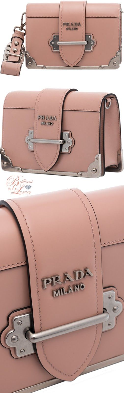 Brilliant Luxury ♦ Prada Cahier Mini shoulder bag. Wow this is super cute, probably in another color