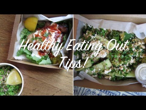 Healthy Eating Out Tips with The Diet Kitchen & Blonde Health!
