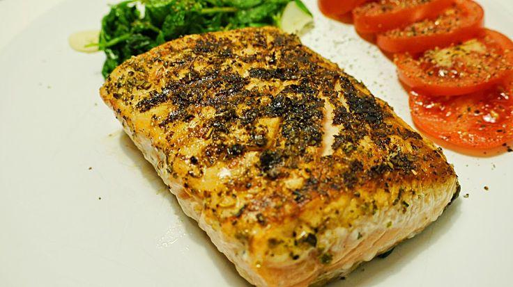 Polskie South Beach: Grillowana ryba po grecku