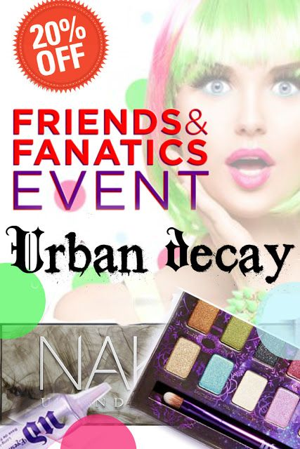 Don't miss out on this Beauty Deal Of The Week: 20% Off Urban Decay #urban decay @bellashoot