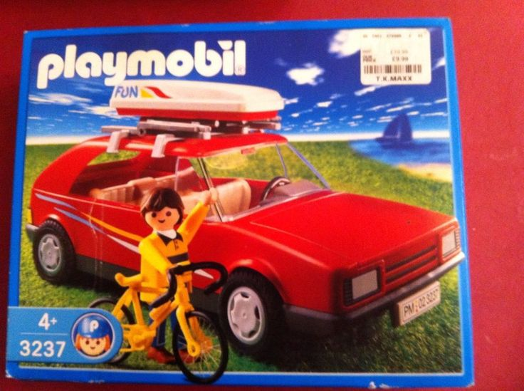 Playmobil 3237 Family Vacation Car Brand New In Box