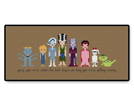 Scooby Doo Ghoul School  Cross Stitch PDF Pattern by HugSandwich