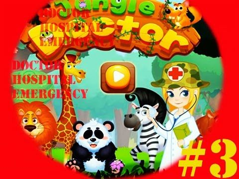 Doctor Hospital Emergency Patients   Doctor Games for Chilldren   Educat...