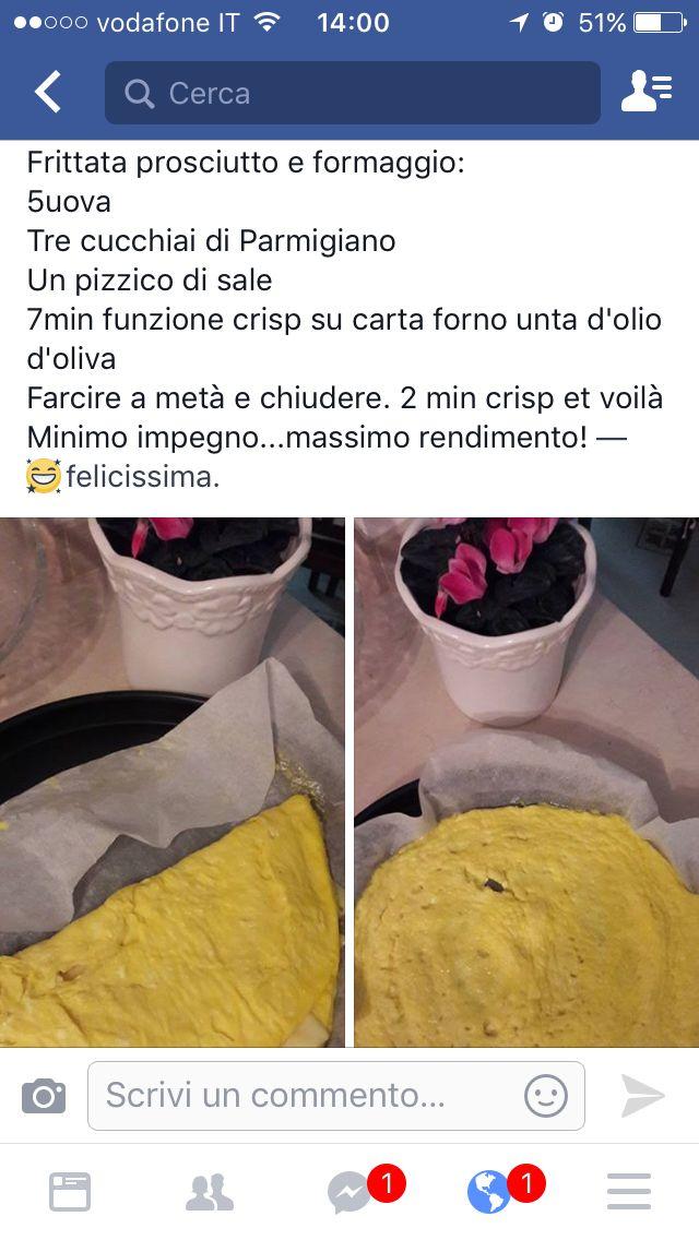 Frittata crisp