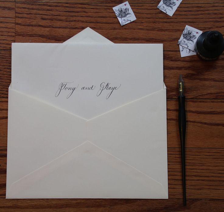 Addressing Wedding Invitations: Best 25+ Addressing Wedding Invitations Ideas Only On