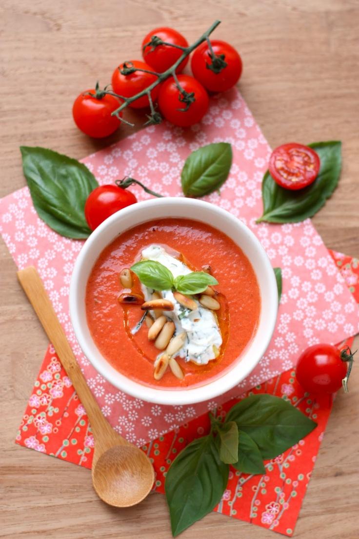 """Gaspacho; une recette de la """"pose"""" gourmande"""
